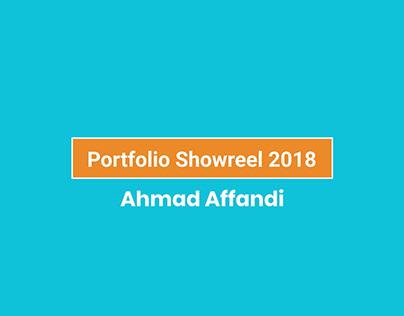 Design Portfolio Showreel