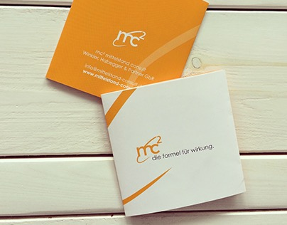 Konzept & Layout Corporate Design