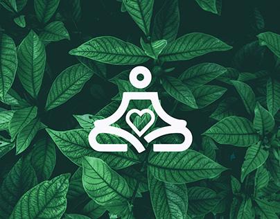 Yoga Logo, Yoga love logo