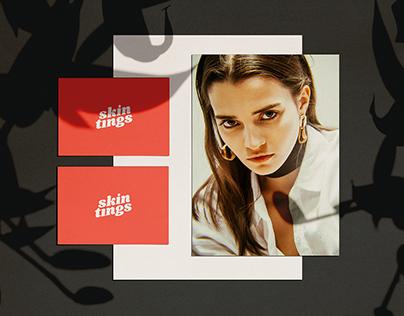 Brand Identity: Skin Tings