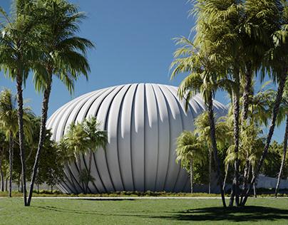 CGI - Museum Concept