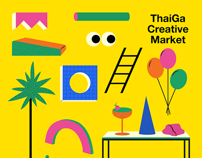 Key Visual : ThaiGa Creative Market 2019