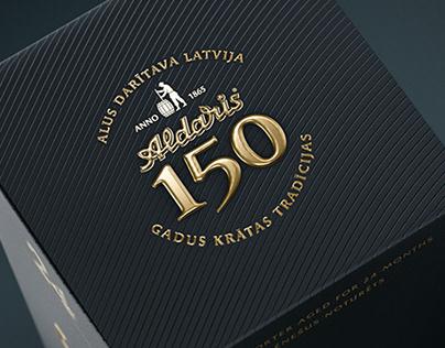 Aldaris 150 Anniverary Porter Visuals