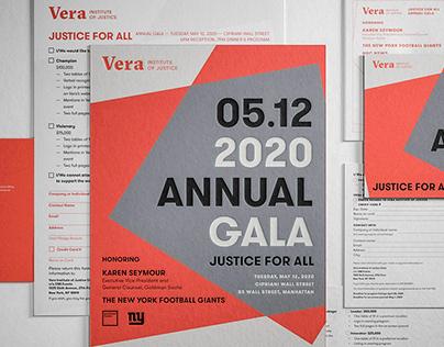 Annual Gala Campaign for Vera Institute of Justice
