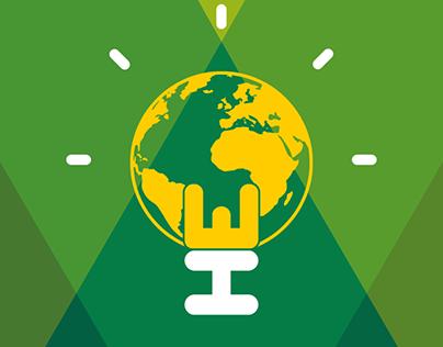 Hack The Earth 2015 visual image