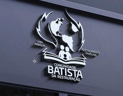 Logo COMUNIDADE BATISTA DA RESTAURAÇÃO