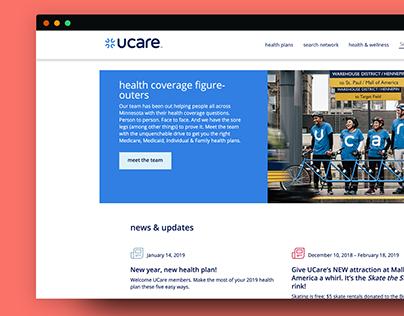 Healthcare Marketing Portal Product Design