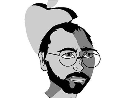 HERO portrait (Steve Jobs)