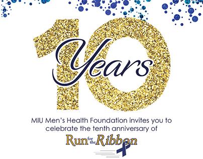Men's Health Foundation Invitations