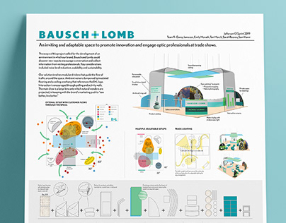 Bausch and Lomb Exhibit Design
