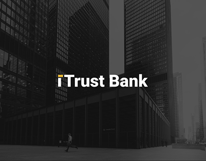 Landing page for bank card