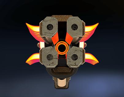Wildfire ( Peacekeeper Weapon Skin )