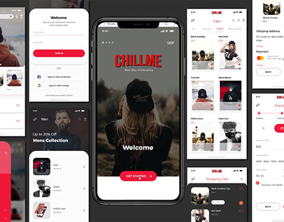 Fashion Brand E-Commerce app UI\UX Design