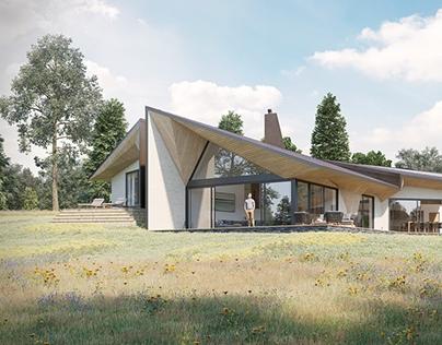 Weald House Exterior CGIs // 3D Visualisation