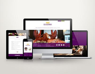 De Rechtbank restaurant website