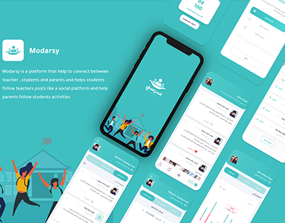 Group study - modarsy - UI/UX Case study