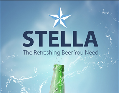 Stella Beer Ad. Options