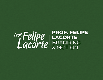 Prof. Felipe Lacorte | Branding & Motion Graphics