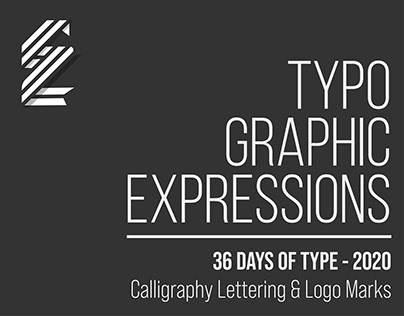 Typographic Expressions | 36 Days of Type