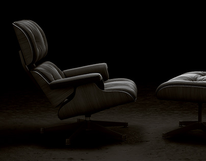 Eames Lounge Chair tribute
