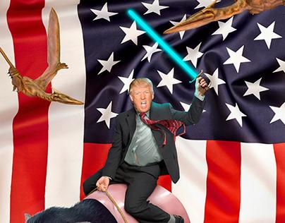 Trump Times / Mongolia Magazine