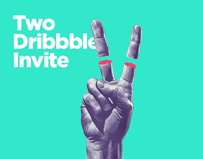 Two Dribbble Invites