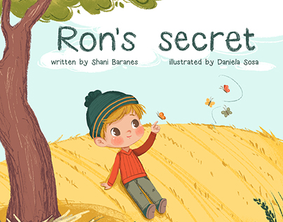 Ron's Secret - children's book