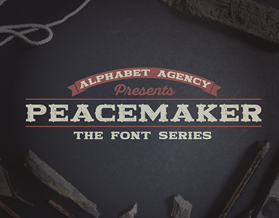 PEACEMAKER: 4 FONTS