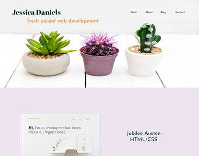 Portfolio Website Design #2