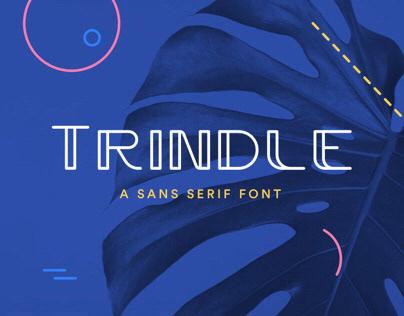 Trindle | Sans Serif Font