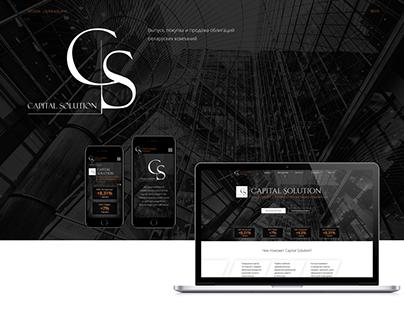 Web Design CAPITAL SOLUTION