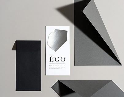 EGO | invitation for a Fashion Show