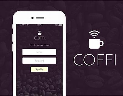 Coffi - Logo, iOS App, & Web Design