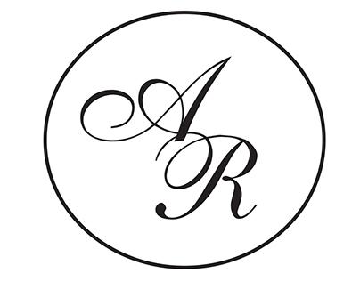 Arjun and Reesa wedding logo