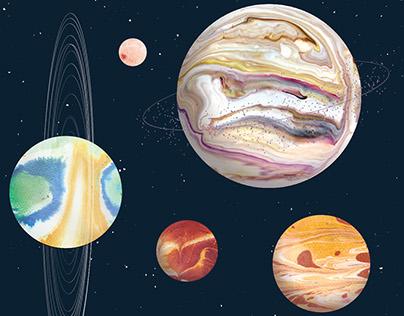 Marbled Solar System