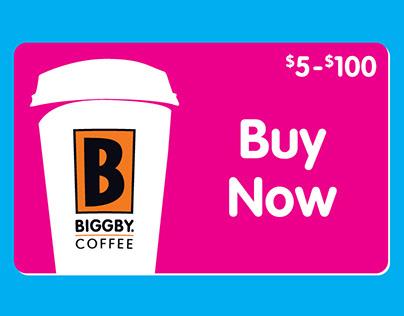 Biggby Coffee Gift Card Gifs