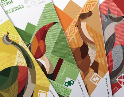 Rediseño de papel moneda Argentina / Banknote redesign