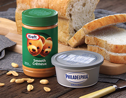 Kraft 3D Product Renders