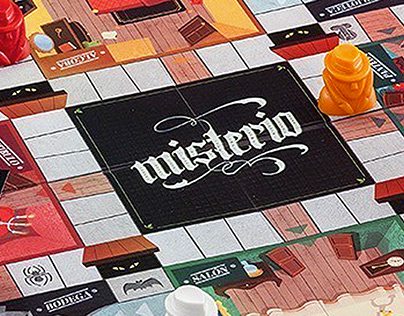 Misterio - Boardgame illustration