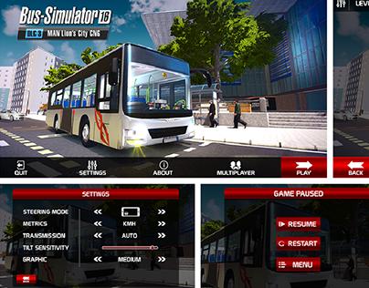 Bus Simulator Game Ui Design