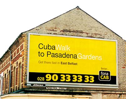 FonaCab advertising campaign