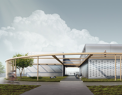 Architectural project of Music Venues in Tver, Russia