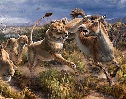 Ice Age Fossils State Park | American Lions at the Wash