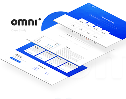 Omni Calculator - case study of Logo & UI & UX