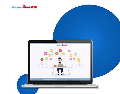 Website Layout Design   Innobuzz