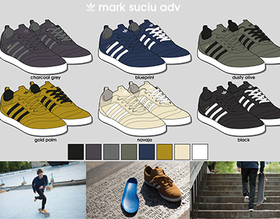 Pre-adidas design work including adidas C&M task