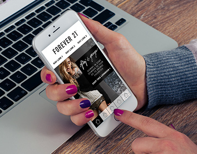 Forever 21 Kinetic Email Template