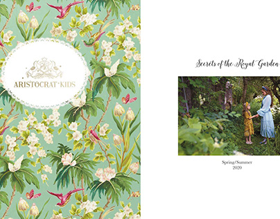 """Aristocrat Kids"" Secrets of the Royal Garden lookbook"