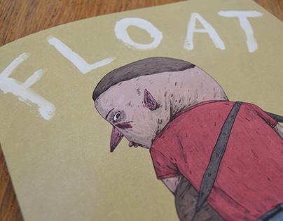 'Float' Illustrated Book/Zine