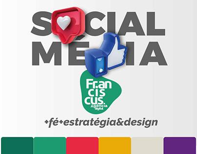 Social Média Franciscus Agência Digital